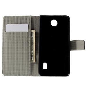 Peňaženkové puzdro na Huawei Y635 - motýlikové - 2