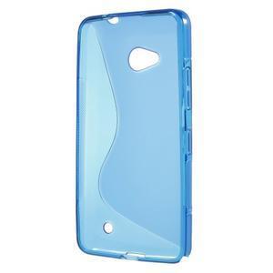 Gélový s-line obal pre Microsoft Lumia 640 - modrý - 2