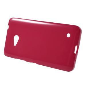 Gélový obal Microsoft Lumia 640 - červený - 2