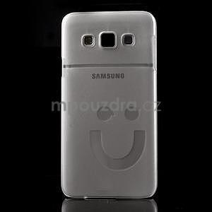 Plastový obal na Samsung Galaxy A3 - biely - 2