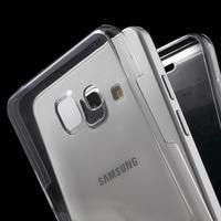 Gélový obal 2v1 pro zadní kryt a displej pre Samsung Galaxy A5 (2016) - šedý - 2/6