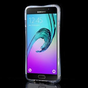 Tvarovaný gelový obal na Samsung Galaxy A5 (2016) - květiny - 2