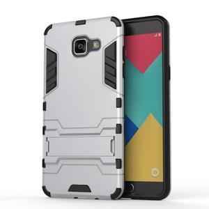 Odolný kryt pre mobil Samsung Galaxy A5 (2016) - strieborny - 2