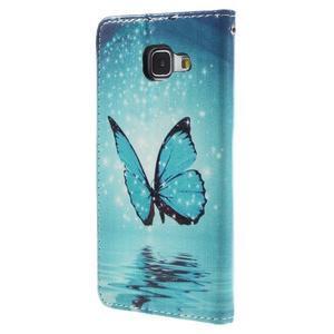 Stylové pouzdro na mobil Samsung Galaxy A5 (2016) - kouzelný motýl - 2