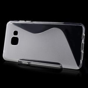 S-line gélový obal pre mobil Samsung Galaxy A5 (2016) - transparentný - 2