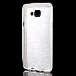 Brush gelový obal na Samsung Galaxy A5 (2016) - bílý - 2