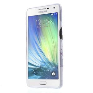 Obal s motivem na mobil Samsung Galaxy A5 (2016) - fialový květ - 2