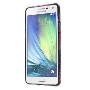 Obal s motívom pre mobil Samsung Galaxy A5 (2016) - farebné kruhy - 2