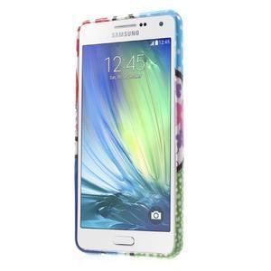 Obal s motívom pre mobil Samsung Galaxy A5 (2016) - malované kvety - 2