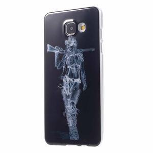 Emotive obal pro mobil Samsung Galaxy A5 (2016) - armádní dívka - 2
