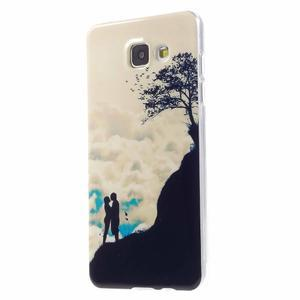 Emotive obal pro mobil Samsung Galaxy A5 (2016) - láska hory přenáší - 2