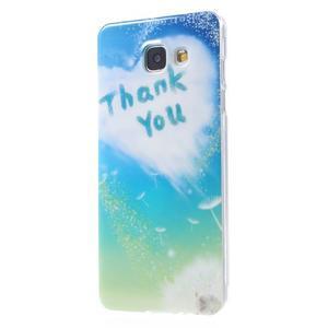 Emotive obal pro mobil Samsung Galaxy A5 (2016) - ďakujem - 2