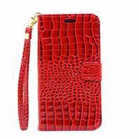 Croco peněženkové pouzdro Samsung Galaxy A5 (2016) - červené - 2/6