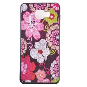 Gélový obal pre mobil Samsung Galaxy A5 (2016) - kvety - 2