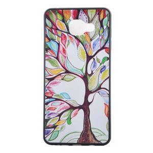 Gélový obal pre mobil Samsung Galaxy A5 (2016) - malovaný strom - 2