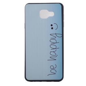 Gelový obal na mobil Samsung Galaxy A5 (2016) - be happy - 2