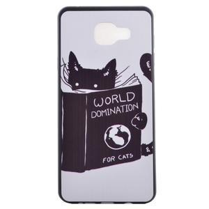Gélový obal pre mobil Samsung Galaxy A5 (2016) - mačička - 2