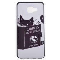 Gélový obal pre mobil Samsung Galaxy A5 (2016) - mačička - 2/6