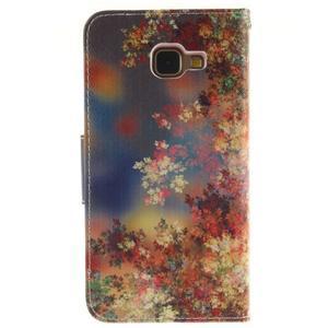 Puzdro na mobil Samsung Galaxy A5 (2016) - podzimní lístečky - 2