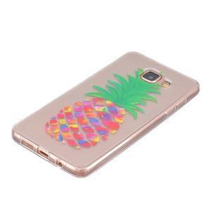 Transparentní gelový obal na Samsung Galaxy A5 (2016) - ananas - 2