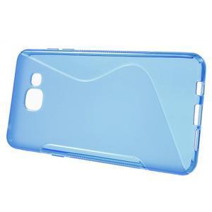 S-line gélový obal pre mobil Samsung Galaxy A5 (2016) - modrý - 2