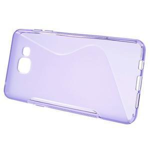 S-line gelový obal na mobil Samsung Galaxy A5 (2016) - fialový - 2