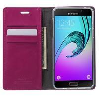 Moon PU kožené puzdro pre Samsung Galaxy A5 (2016) - rose - 2/7