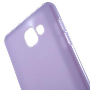 Jelly lesklý pružný obal pre Samsung Galaxy A5 (2016) - fialový - 2
