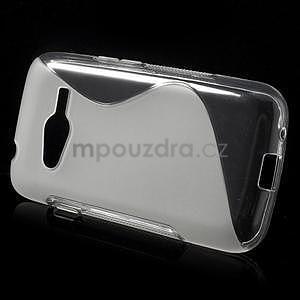 Gélové s-line puzdro pre Samsung Galaxy Ace 4 - transparentný - 2