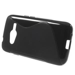 Gélové s-line puzdro pre Samsung Galaxy Ace 4 - čierné - 2