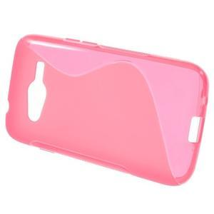 Gélové s-line puzdro pre Samsung Galaxy Ace 4 - ružové - 2