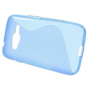 Gélové s-line puzdro pre Samsung Galaxy Ace 4 - modré - 2