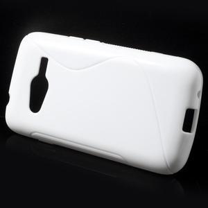 Gélové s-line puzdro na Samsung Galaxy Ace 4 - biele - 2
