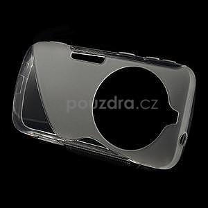 Transparentný s-line gélový kryt pre Samsung Galaxy K Zoom C115 - 2