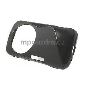 Čierny s-line gélový kryt pre Samsung Galaxy K Zoom C115 - 2
