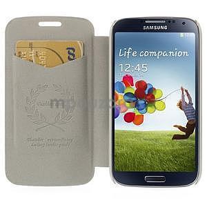 hnedé peňaženkové puzdro na Samsung Galaxy K Zoom C115 - 2