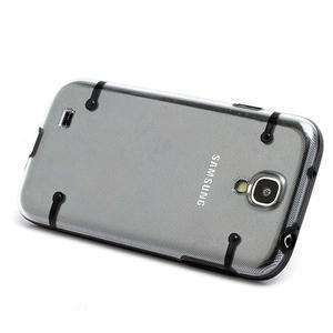 Obal pre mobil se svítícími hranami pre Samsung Galaxy S4 - čierne - 2