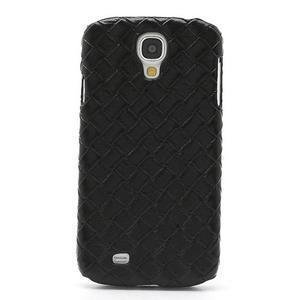 PU kožené pouzdro na Samsung Galaxy S4 - černé - 2