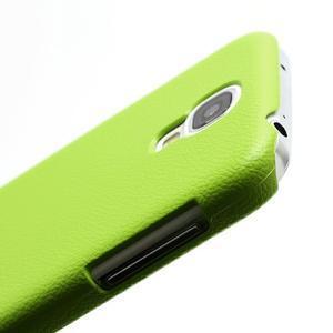 Plastové poudro na Samsung Galaxy S4 - zelené - 2