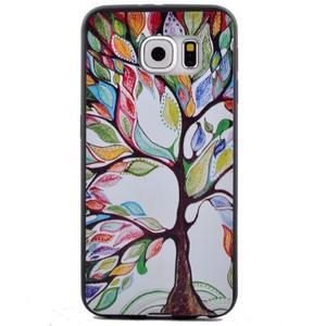 Jells gelový obal na Samsung Galaxy S7 - malovaný strom - 2