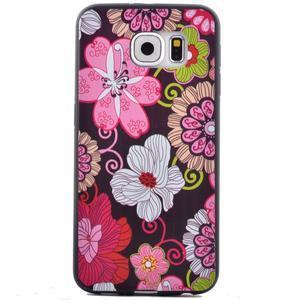 Jells gelový obal na Samsung Galaxy S7 - květiny - 2