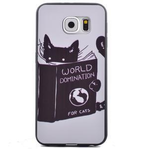 Jells gelový obal na Samsung Galaxy S7 - kočička - 2