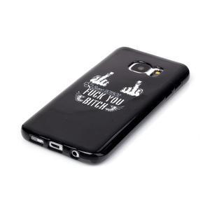 Sally gelový obal na Samsung Galaxy S7 - prostředníčky - 2