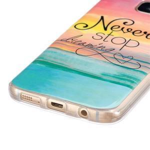 Gelový kryt na mobil Samsung Galaxy S7 - nepřestávej snít - 2