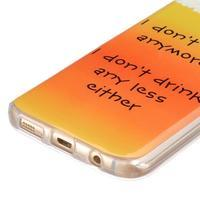 Gelový kryt na mobil Samsung Galaxy S7 - drink - 2/4