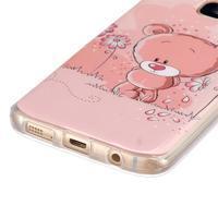 Gelový kryt na mobil Samsung Galaxy S7 - medvídek - 2/4