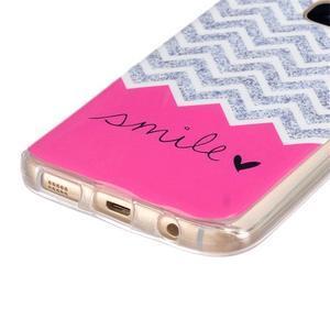 Gelový kryt na mobil Samsung Galaxy S7 - smile - 2