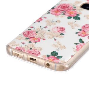 Gelový kryt pre mobil Samsung Galaxy S7 - kvetiny - 2