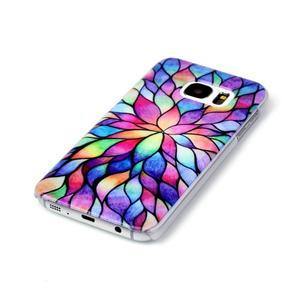 Plastový obal pre mobil Samsung Galaxy S7 - petals - 2