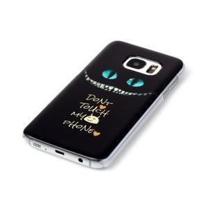 Plastový obal na mobil Samsung Galaxy S7 - nešahat - 2